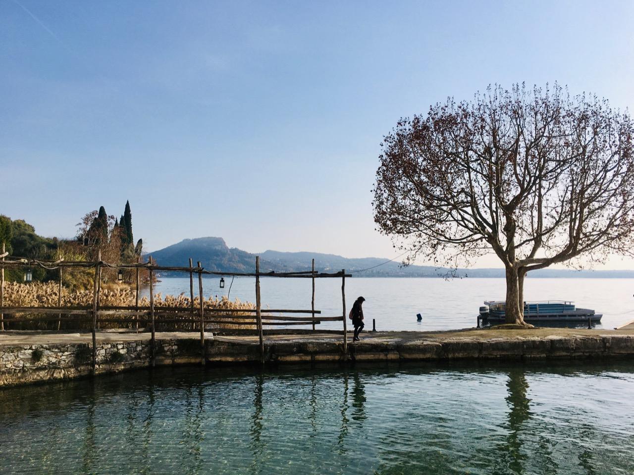 Along Lake Garda near Bardolino