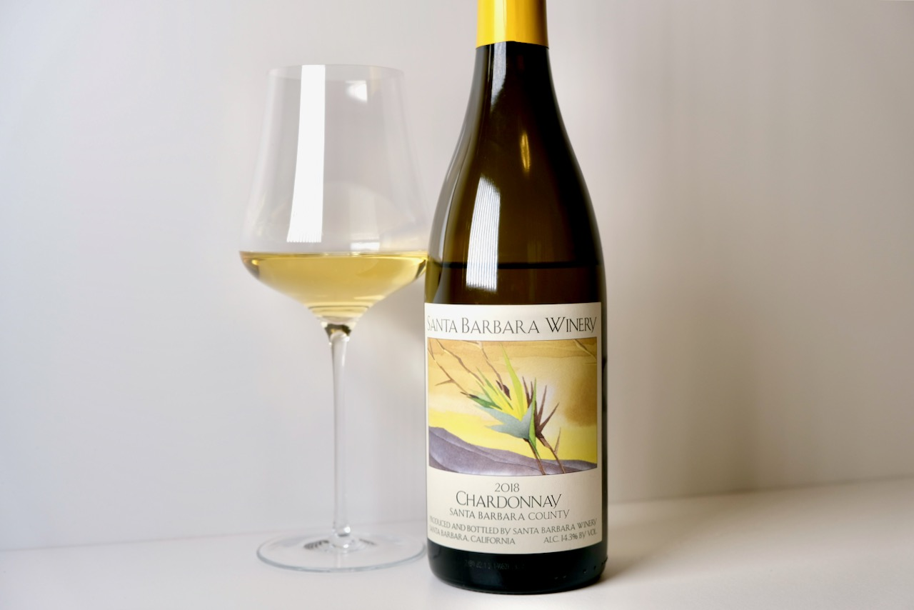 2018 Santa Barbara Winery Chardonnay Santa Barbara County