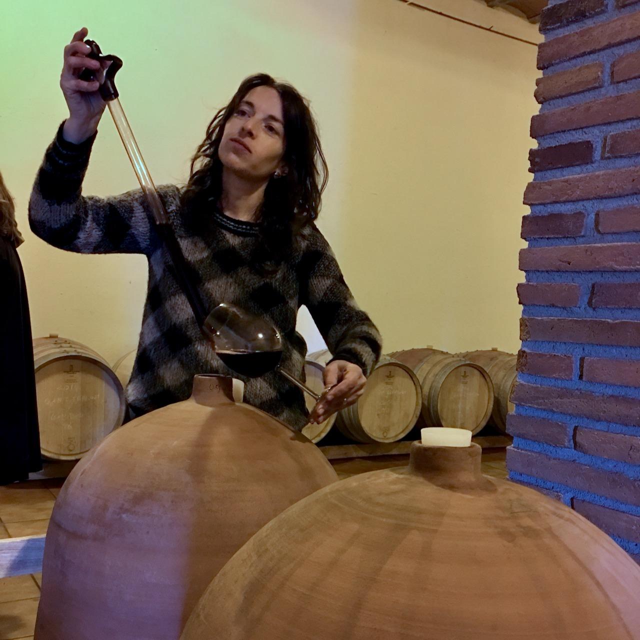 Morlanda winemaker Judit Llop