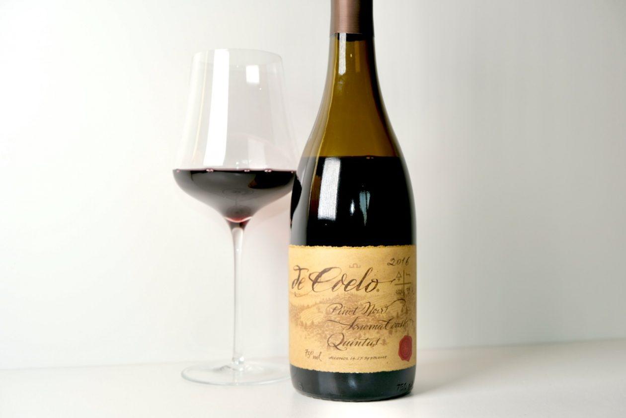 2016 Benziger Family Winery de Coelo Pinot Noir Quintus Sonoma Coast