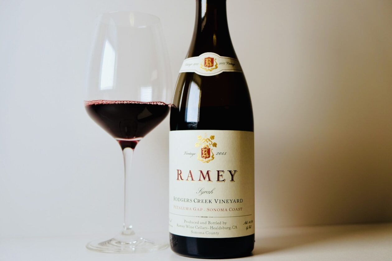 2015 Ramey Syrah Rodgers Creek Vineyard Petaluma Gap Sonoma Coast