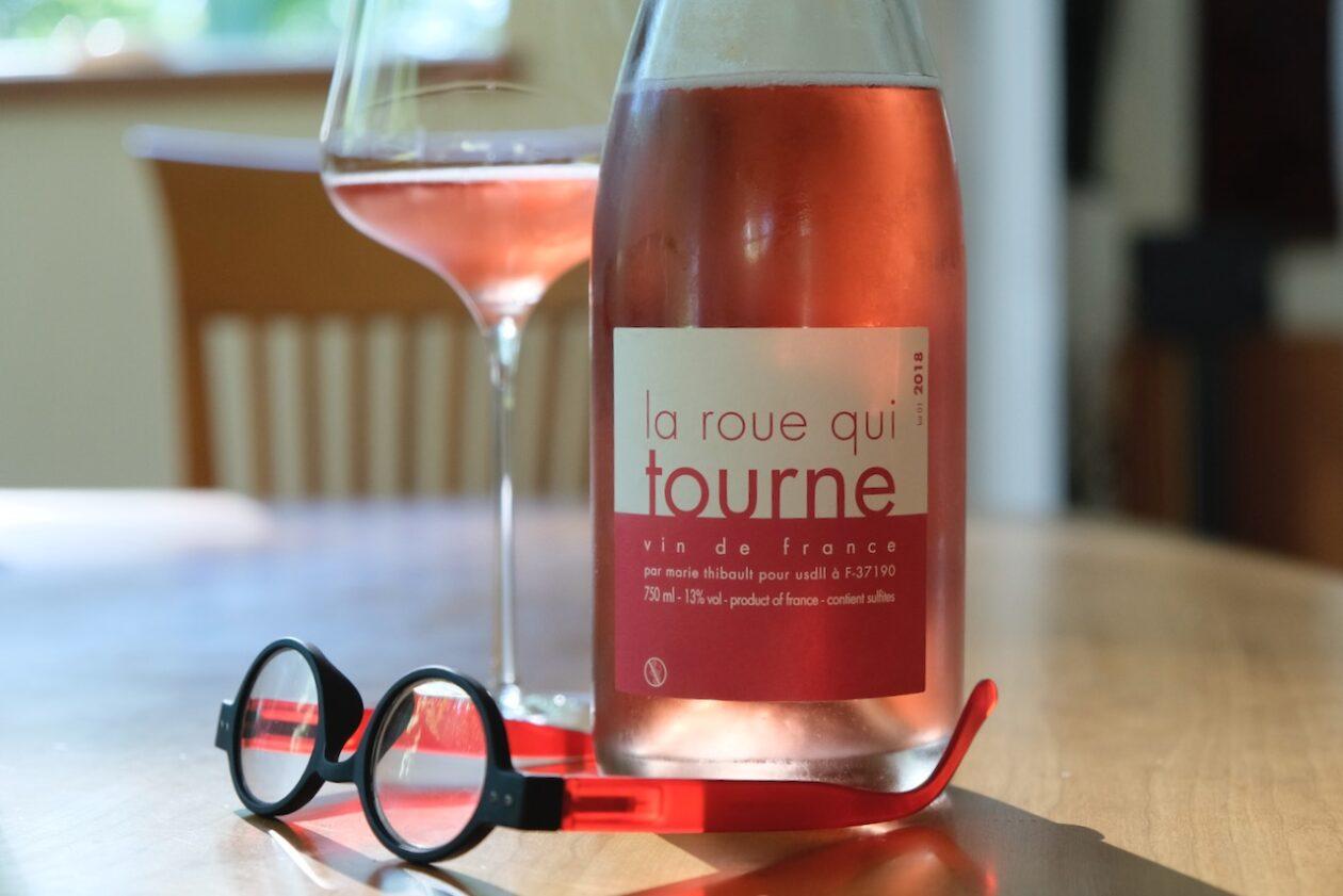 2018 Marie Thibault La Roue qui Tourne Rosé Pétillant-Naturel Vin de France