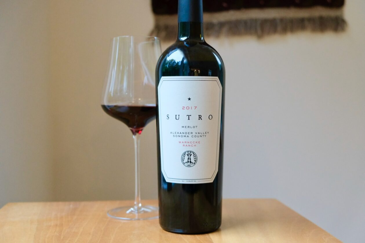 2017 Sutro Merlot Warnecke Ranch Alexander Valley