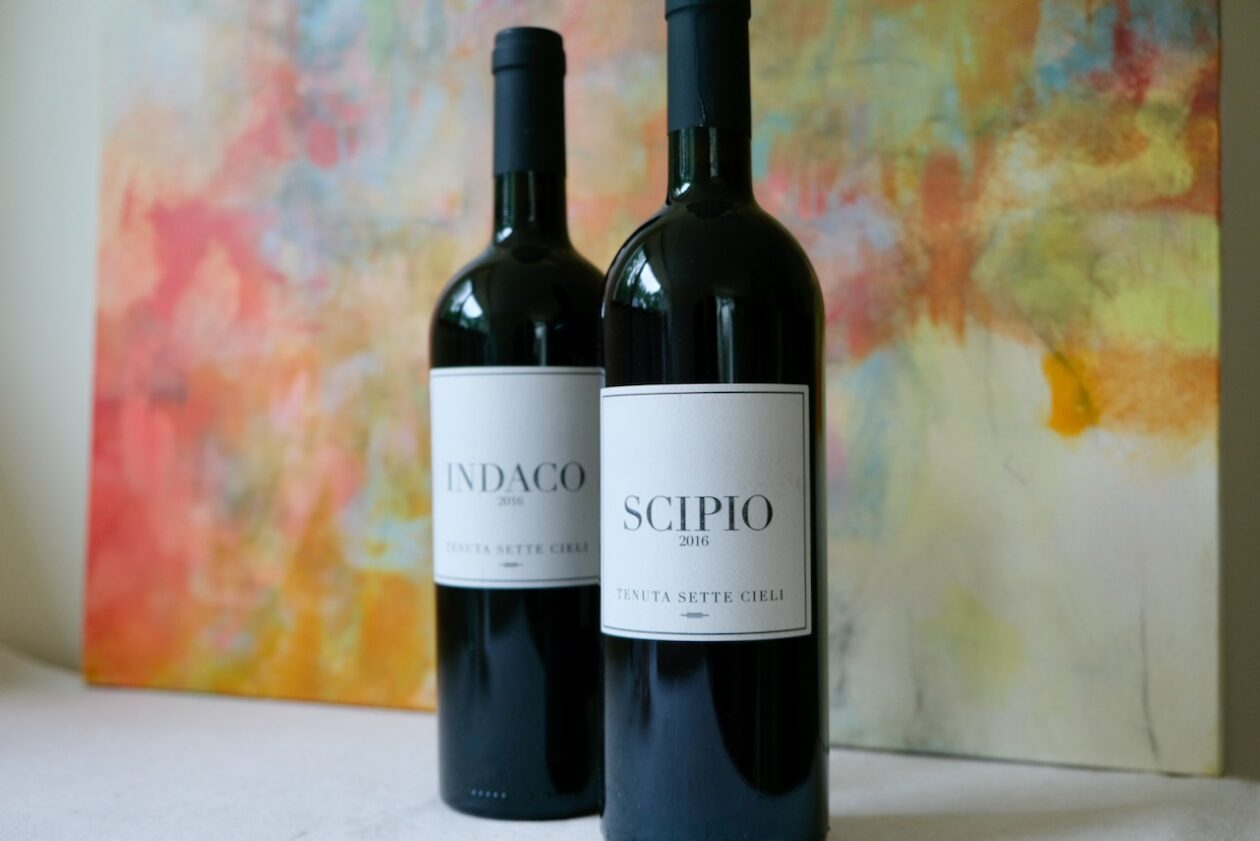 Tenuta Sette Cieli: 2016 Indaco and Scipio