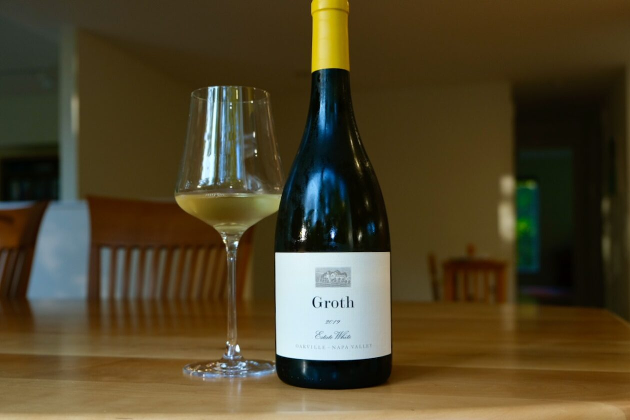 2019 Groth Estate White Wine Oakville Napa Valley