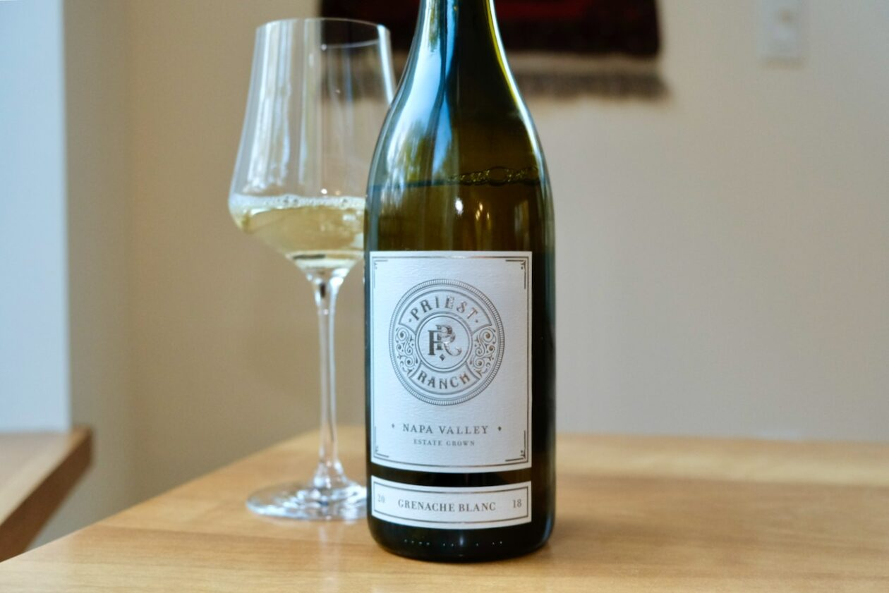 2018 Priest Ranch Grenache Blanc Napa Valley