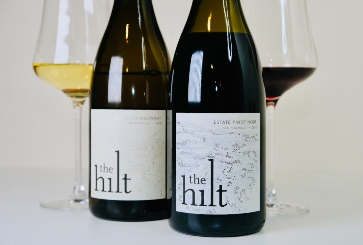 The Hilt Estate 2018 Pinot Noir and Chardonnay
