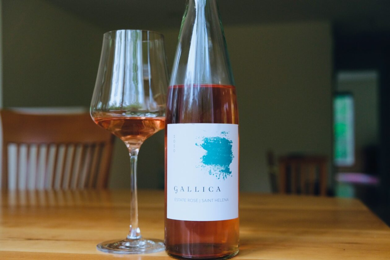 2020 Gallica Estate Rosé St. Helena Napa Valley