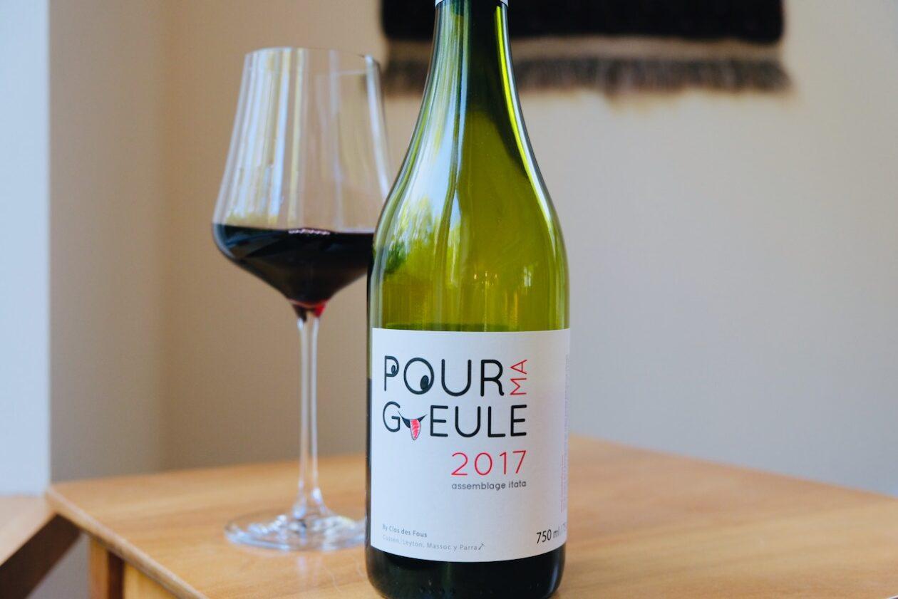 2017 Clos des Fous Pour Ma Gueule Red Blend Itata