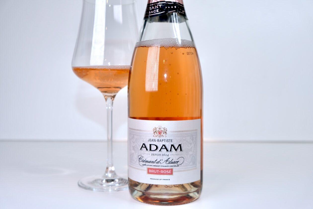 NV Jean-Baptiste Adam Brut Rosé Crémant d'Alsace