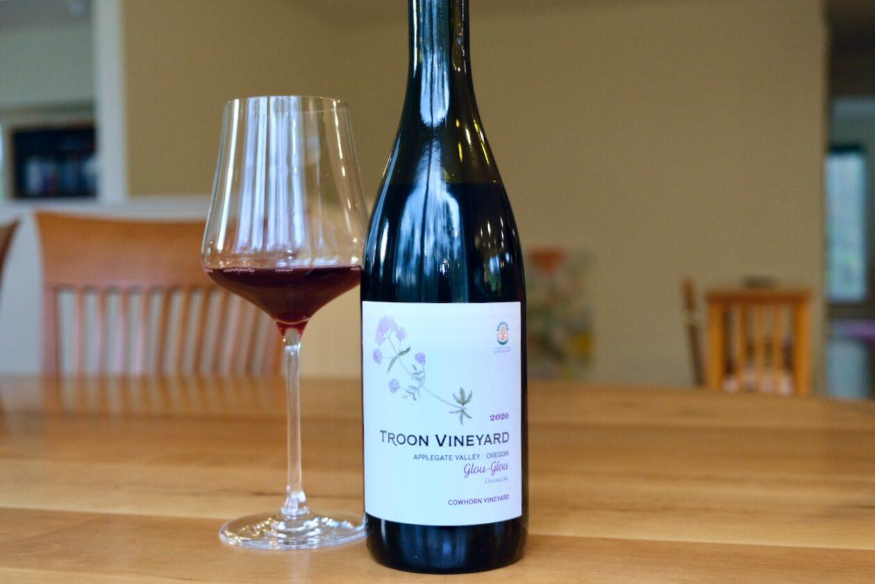 2020 Troon Vineyard Grenache Glou-Glou Cowhorn Vineyard Applegate Valley