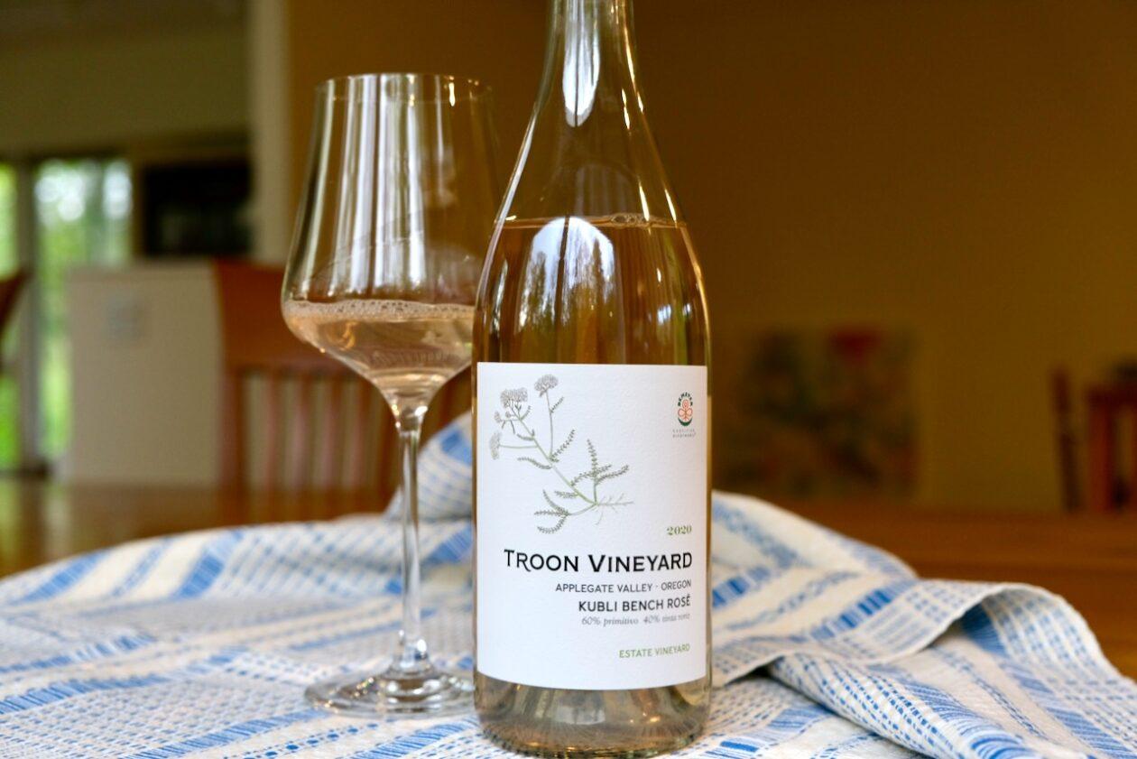 2020 Troon Vineyard Rosé Kubli Bench Applegate Valley