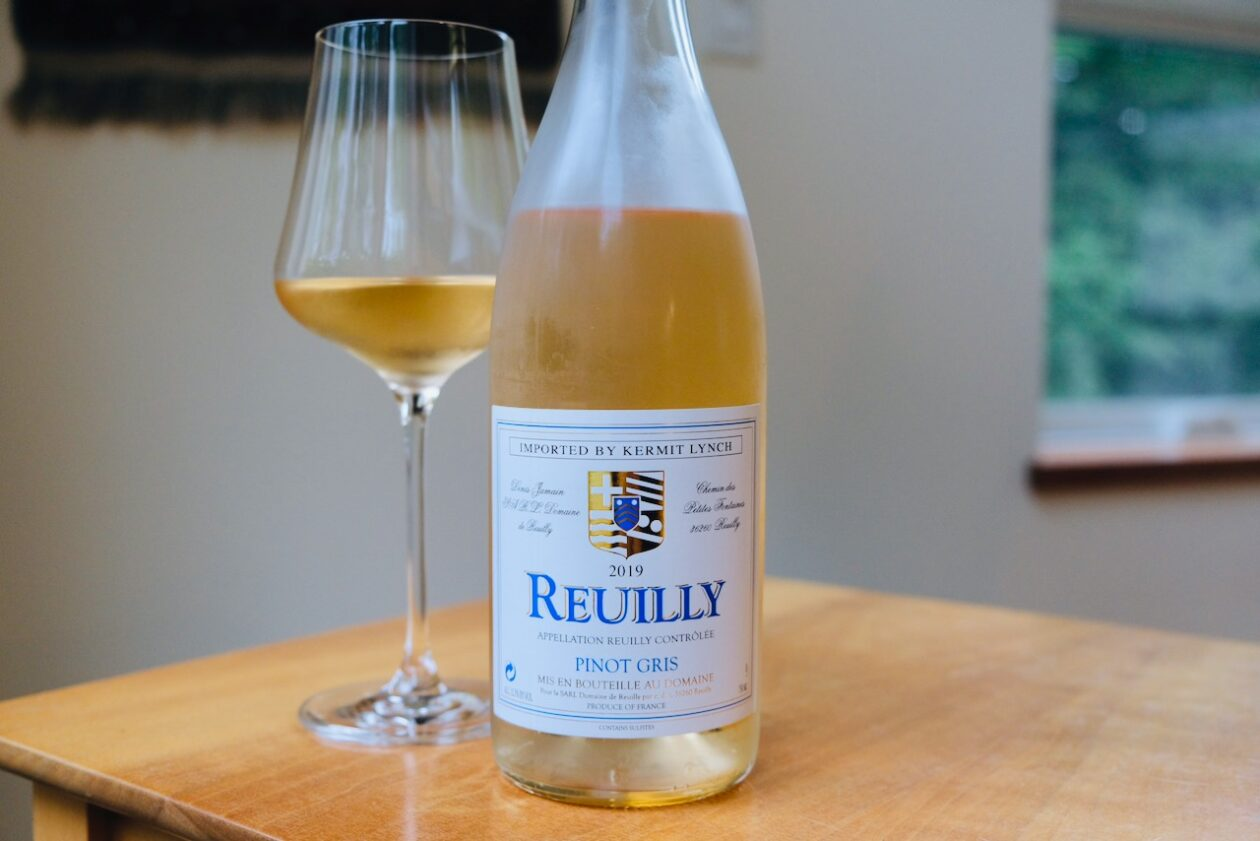 2019 Domaine de Reuilly Pinot Gris Rosé Reuilly AOP