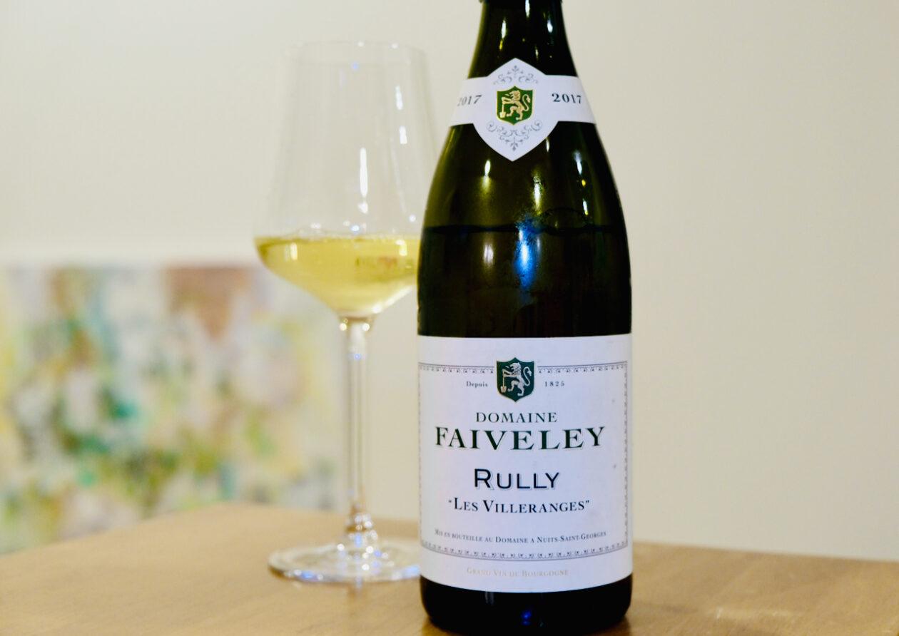 2017 Domaine Faiveley Les Villeranges Rully